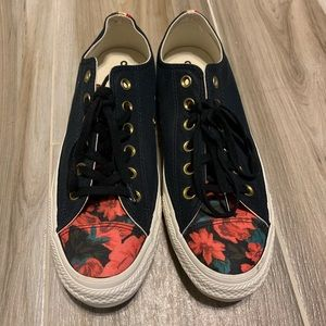Floral Converse All Star Ox Sneakers